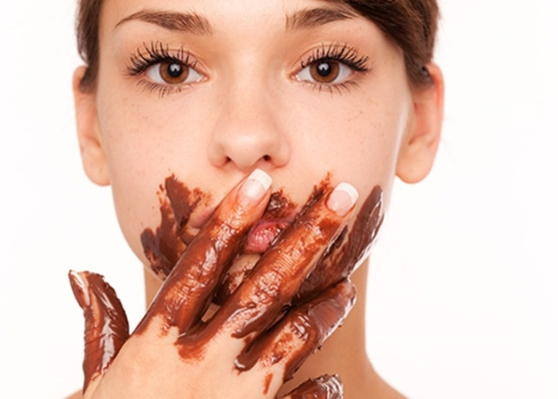 acne e chocolate